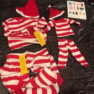 Leveret pajama set  for kid and doll